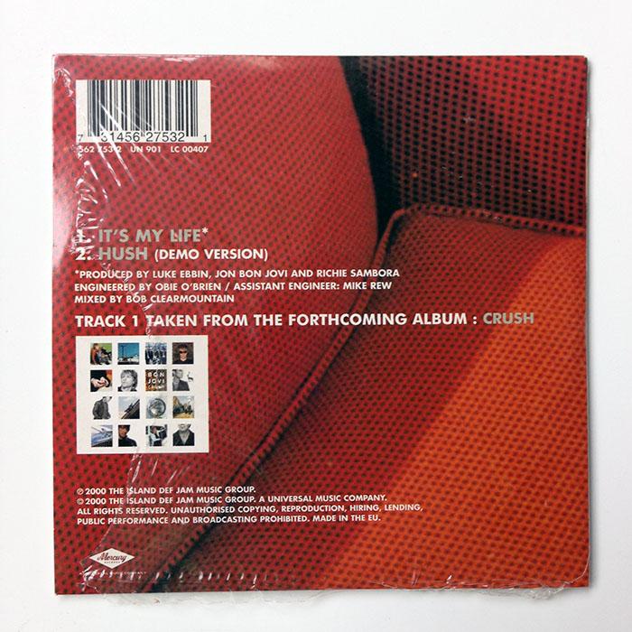 IT'S MY LIFE - 2-track CD (562 753-2)