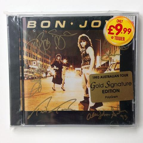 BON JOVI - Australian Gold Signature Edition (814 982-2)