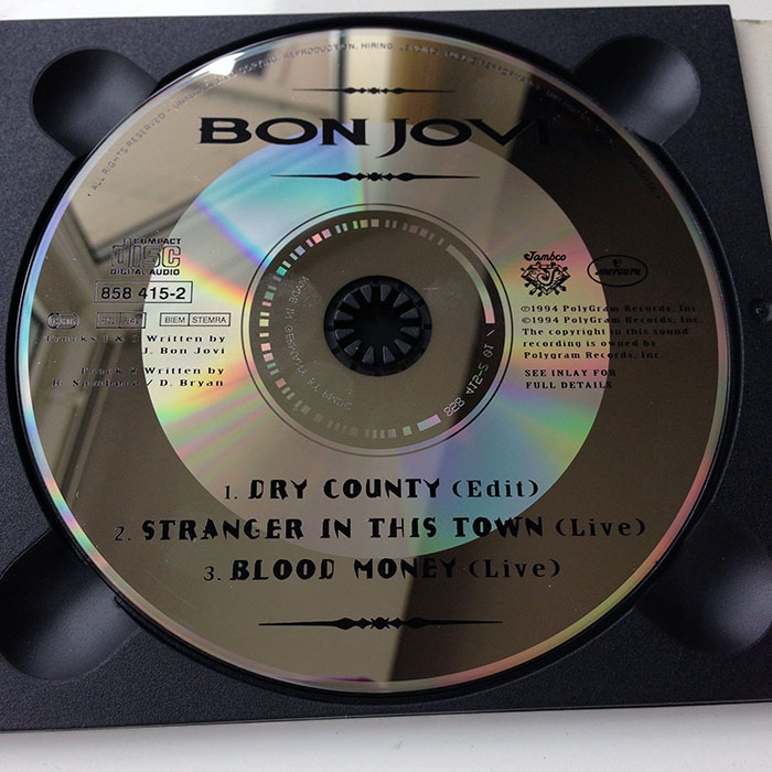 DRY COUNTY - European 2-CD Signature Digipack 1994.