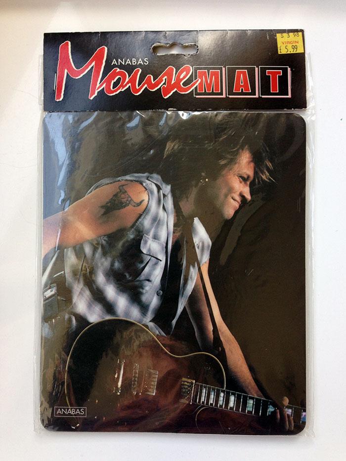 Jon Bon Jovi Mouse Mat