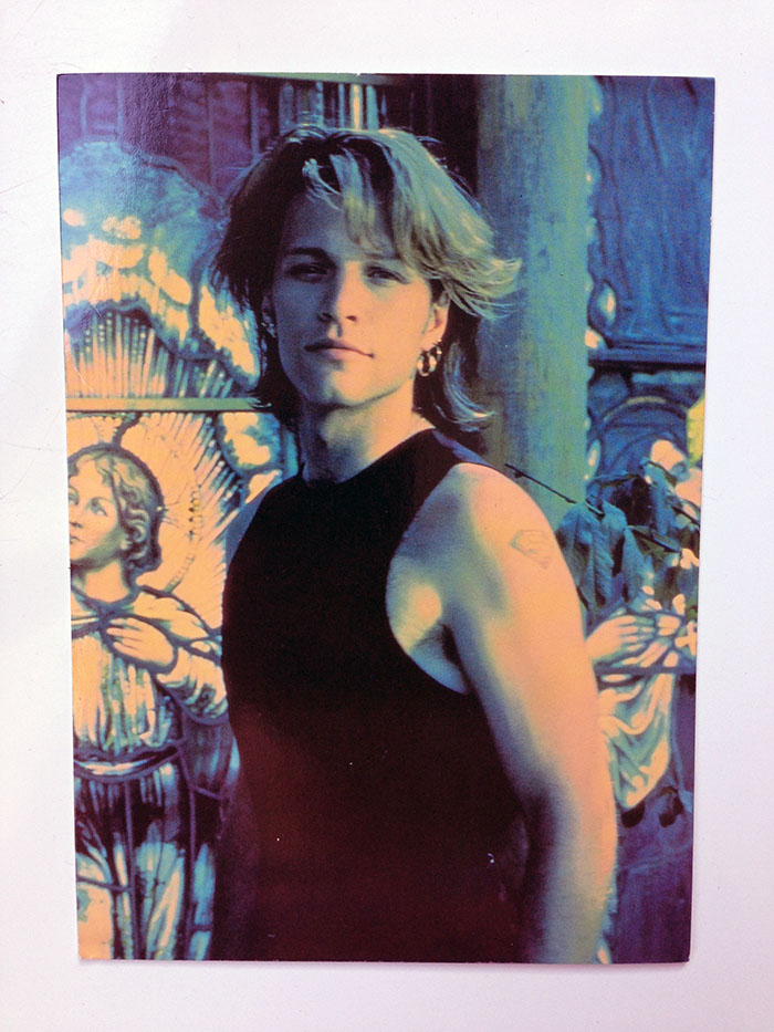 Jon Bon Jovi Greetings Card