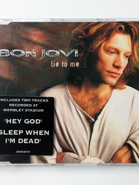 LIE TO ME - UK 4-track Maxi-Single (JOVCD 19)