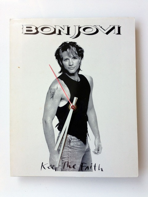 Jon Bon Jovi Keep the Faith Clock