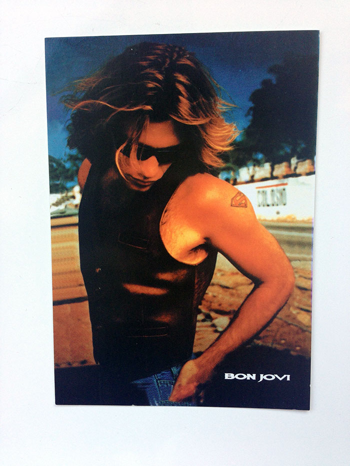 "6 x 4"" Postcard of Jon Bon Jovi circa These Days."
