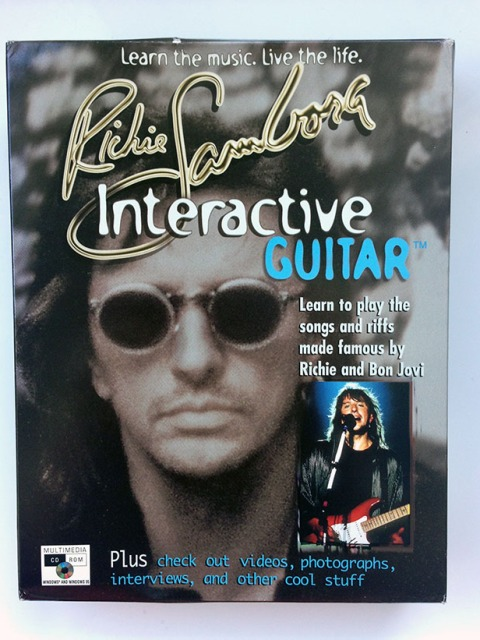 Richie Sambora Interactive Guitar