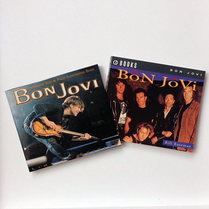 BON JOVI - Limited Edition Interview Picture CD & Fully Illustrated 120-page colour CD Book (SAM 7004)
