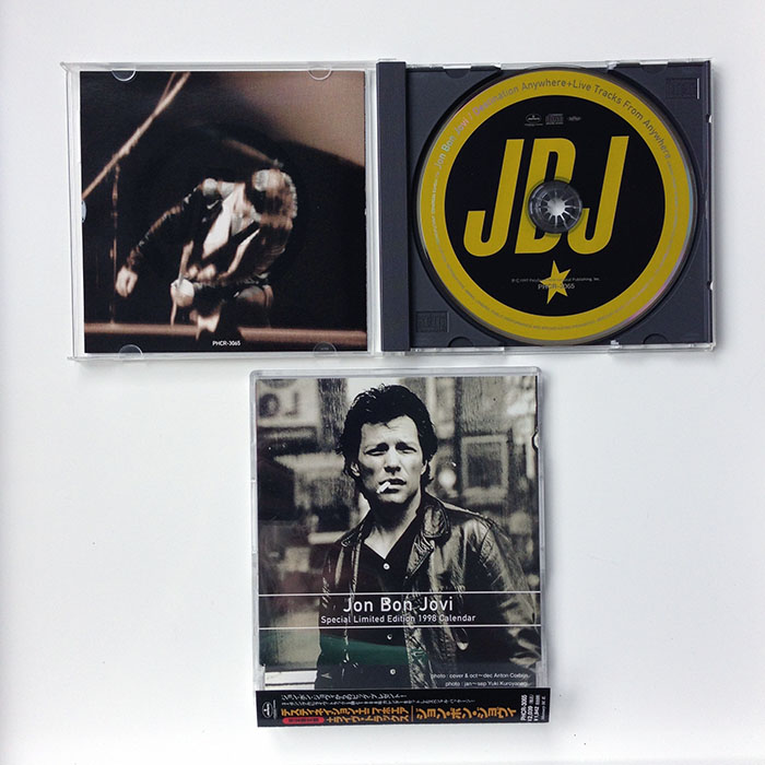 DESTINATION ANYWHERE - Japanese limited edition 6-track CD single (PHCR-3065)