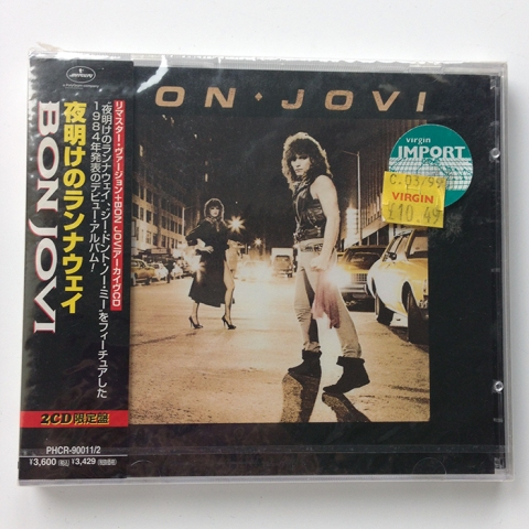 BON JOVI - Rare Japanese 2 CD pack (PHCR-9001 1/2)