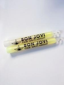 Bon Jovi One Wild Night Glow Sticks - www.bonjovisale.com