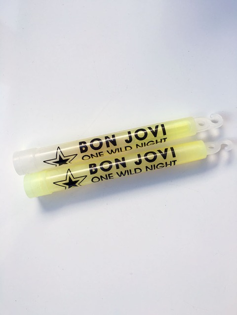 Bon Jovi One Wild Night Glow Sticks - www.bonjovisale.com