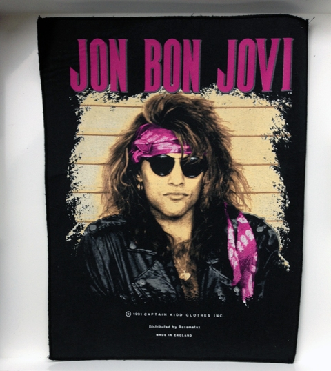 Jon Bon Jovi Back Patch - www.bonjovisale.com