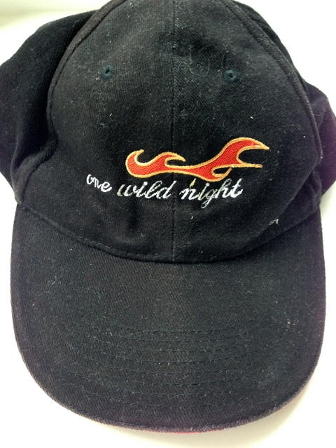 Bon Jovi Baseball Cap - One Wild Night Tour. 2001.