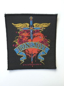 Bon Jovi Heart and Dagger Patch - www.bonjovisale.com