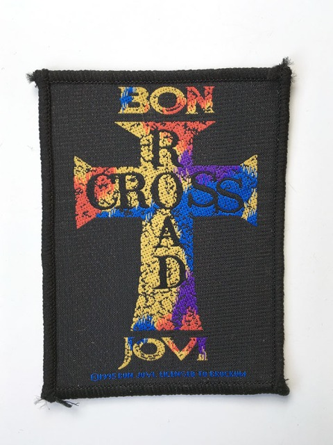 Bon Jovi Cross Road Patch - www.bonjovisale.com