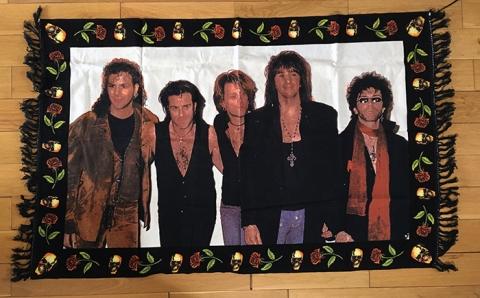 Bon Jovi Tapestry/Fabric Wall Hanging - www.bonjovisale.com