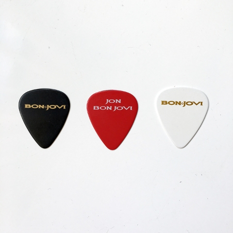 Selection of Guitar Picks - www.bonjovisale.com