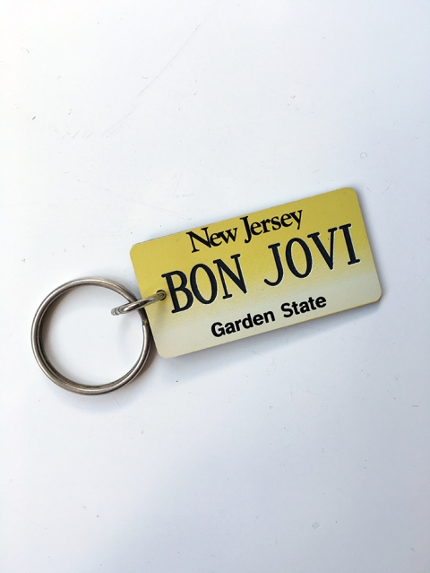 New Jersey Bon Jovi Keyring - www.bonjovisale.com
