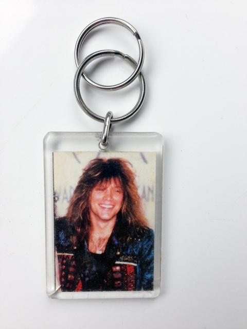 Jon Bon Jovi picture keyring - www.bonjovisale.com