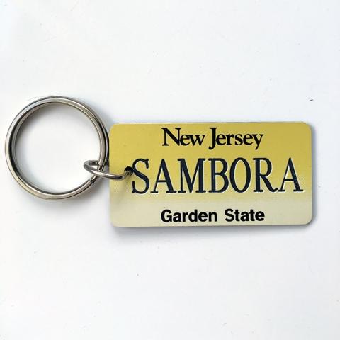 New Jersey, Sambora Keyring - www.bonjovisale.com